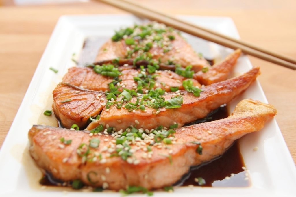 Salmon: The richest source omega-3 fatty acids Alpha Rise Health