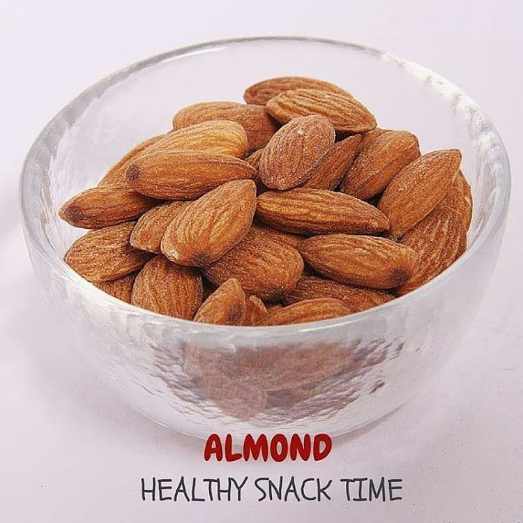 Healthy snack: Almonds Alpha Rise Health
