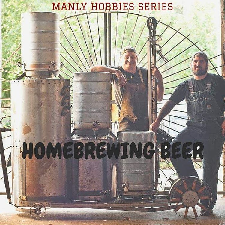 Manly Hobby: Homebrewing beer Alpha Rise Health