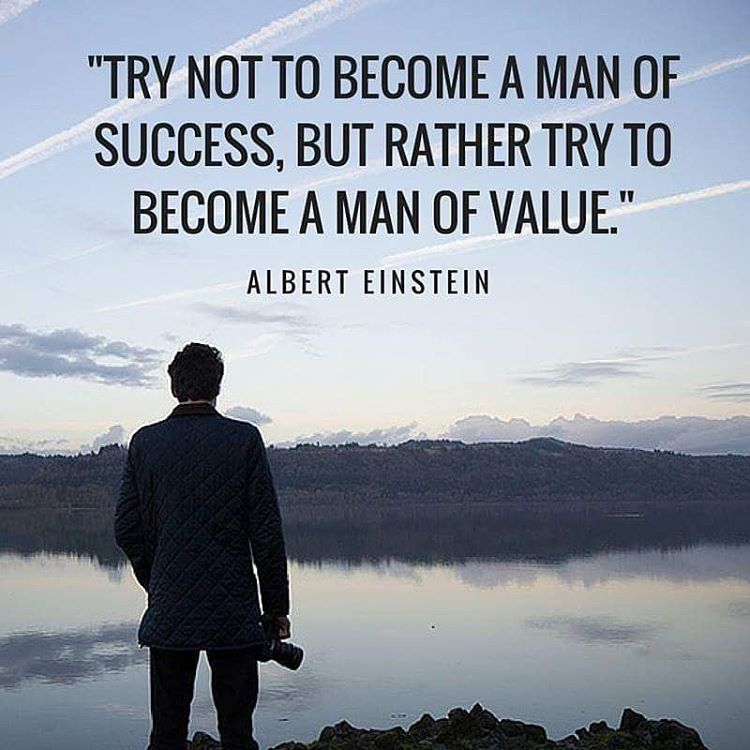 Try not to become a man of success, but rather try to become a man of value Alpha Rise Health