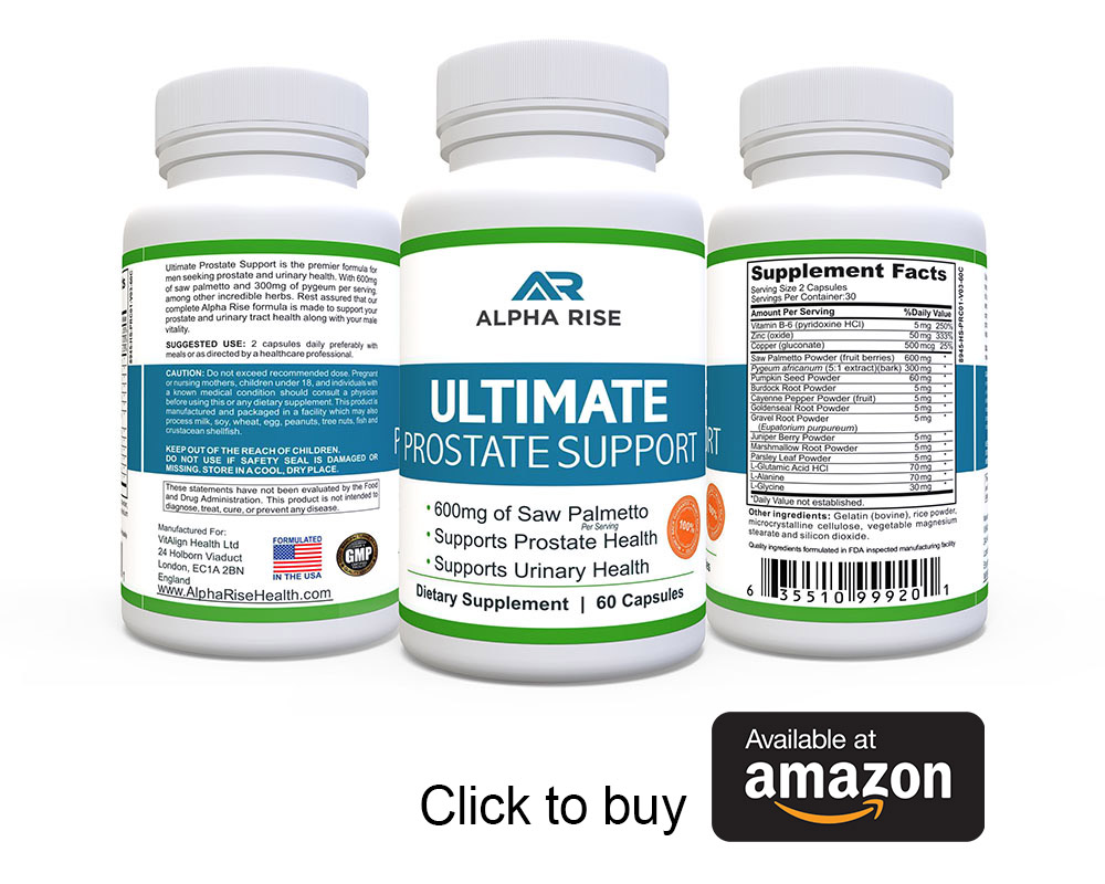 Ultimate Prostate Support Alpha Rise Health