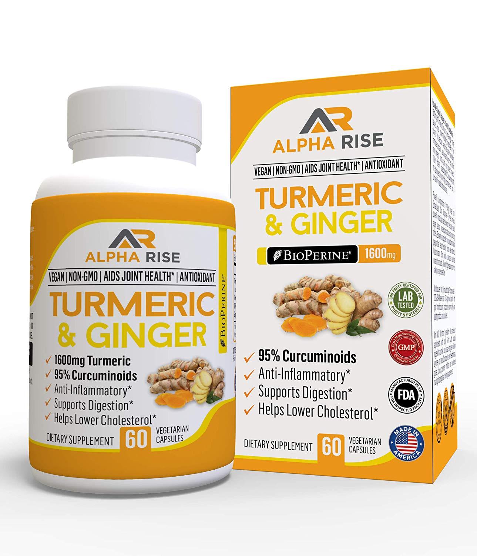 Turmeric & Ginger Alpha Rise Health